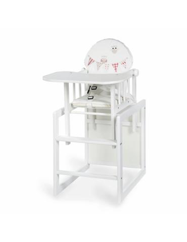 Krzesełko AGA III Sówki białe Klupś