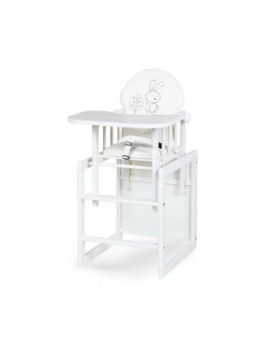 Krzesełko AGA III SAFARI Zajączek ecru Klupś
