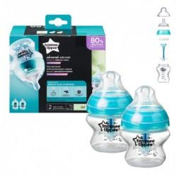 Butelka antykolkowa dla niemowlaka Tommee Tippee 2x150 ml ADVANCED