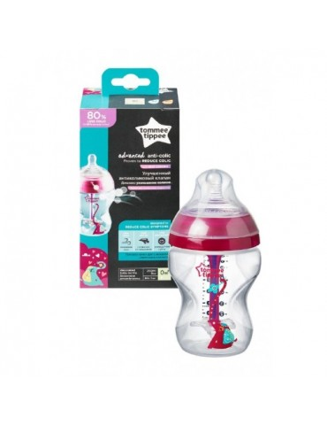 Butelka antykolkowa Tommee Tippee 260 ml ADVANCED GIRL