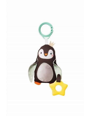 Zawieszka z gryzakiem Pingwinek 0m+ Taf Toys