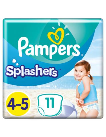 Pampers Splashers pieluchy jednorazowe do pływania rozmiar 4-5 11 szt.