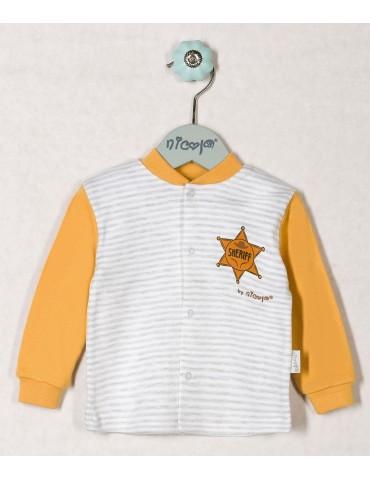 Kaftan niemowlęcy bawełniany WILD WEST 48-74 Nicola