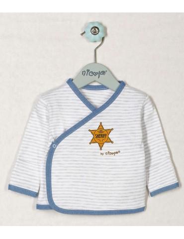 Koszulka niemowlęca bawełniana WILD WEST 48-68 Nicola