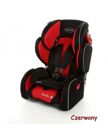 Babysafe Fotelik samochodowy HUSKY 9-36 kg Red