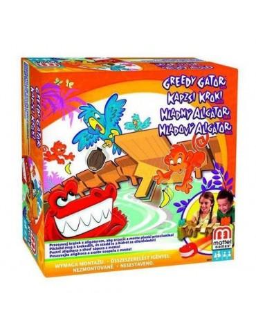 Głodny aligator, gra zręcznościowa Mattel