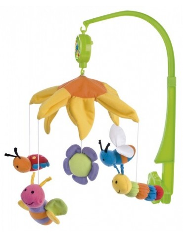 Karuzela pluszowa kolorowe Pszczółki Canpol Babies
