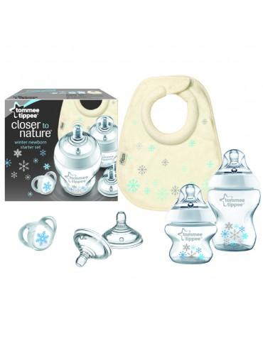 Zimowy zestaw startowy dla noworodków Closer to nature Tommee Tippee