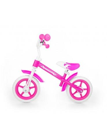 Rowerek biegowy Milly Mally Pink