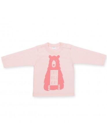Bluzka niemowlęca bawełniana długi rękaw HAPPY KIDS 68-104 Pinokio