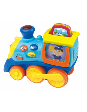Mój pierwszy pociąg pojazdy Dumel