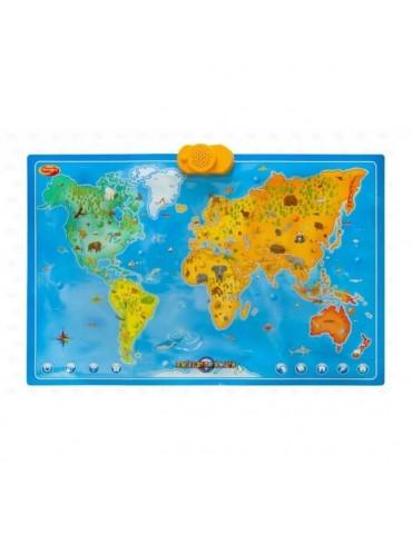 Discovery Interaktywna Mapa Zwierzęta Świata Dumel