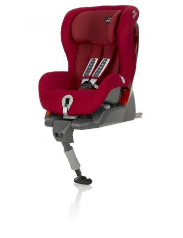 Britax Römer Safefix Plus Flame Red fotelik samochodowy 9-18kg