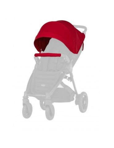 Britax Pakiet kolorystyczny do wózka B-Agile 4 Plus Flame Red