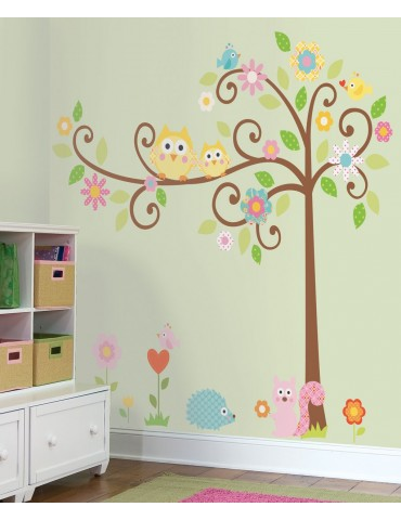Naklejki Kwitnące drzewo Roommates