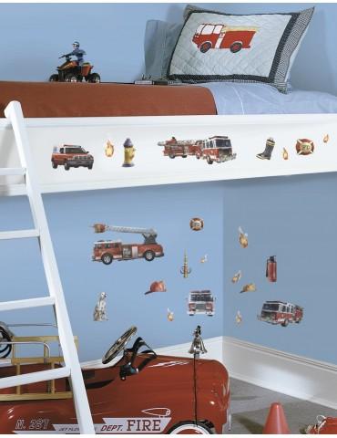 Naklejki Straż pożarna Roommates