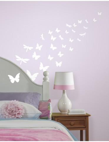 Naklejki Motyle (świecą w ciemności) Roommates