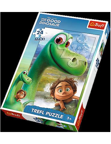 Arlo i Spot - Puzzle Maxi 24 The Good Dinosaur Trefl
