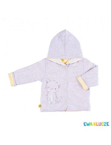 Bluza niemowlęca bawełniana chłopięca MELODY 62-86 Ewa Klucze