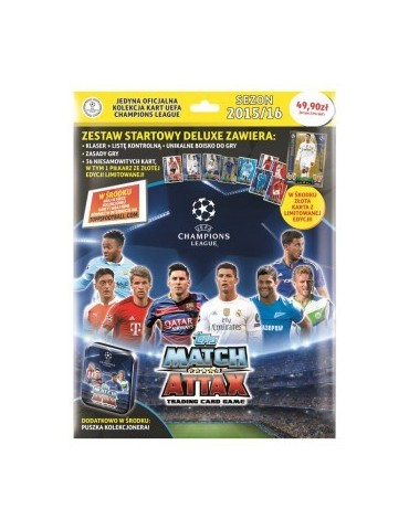 Zestaw startowy Deluxe Champions League UEFA Match Attax