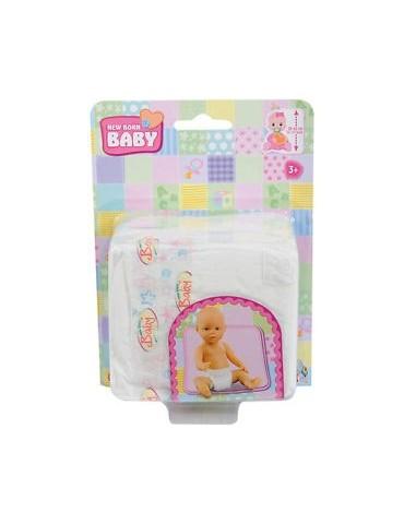 Zestaw pieluszek dla lalki New Born Simba