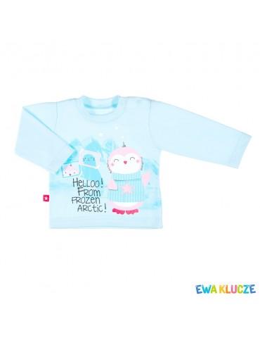 Bluzka bluzeczka niemowlęca bawełniana WINTER 62-86 Ewa Klucze