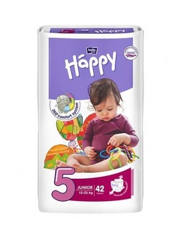 Pieluszki Bella Baby Happy 5 Junior - 42 sztuki