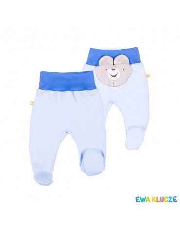 Półśpioch niemowlęcy bawełniany LUCKY 56-86 Ewa Klucze