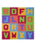 Mata puzzle piankowe podłogowe LITERY 16 sztuk BabyOno
