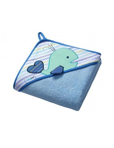 Okrycie kąpielowe frotte niebieskie100/100 BabyOno