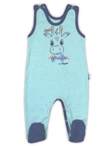 Śpioch niemowlęcy bawełniany ŻYRAFA 56-80 Nicola