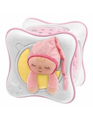 Tęczowa kostka różowa Projektor Chicco