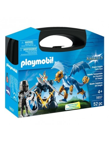 Skrzyneczka Rycerz smok Playmobil