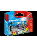 Skrzyneczka Straż Pożarna Playmobil