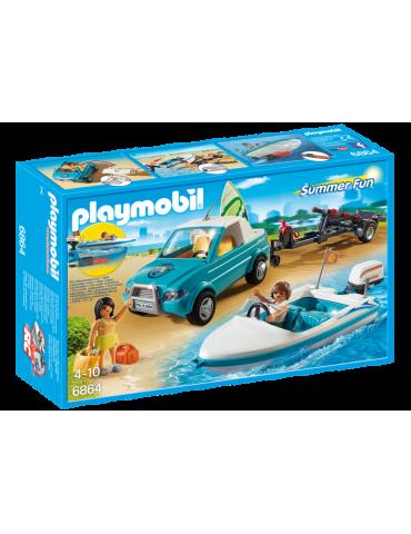 Pickup Serfera z motorowką i silniczkiem Playmobil
