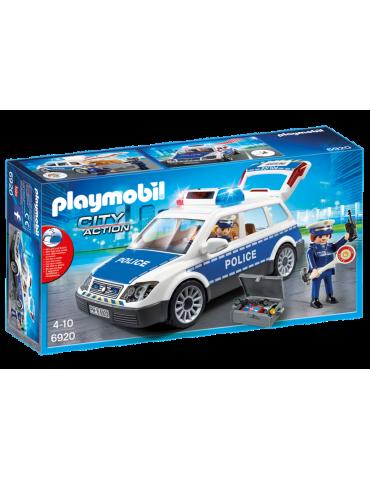 Radiowóz policyjny ze światłem i dźwiękiem Playmobil