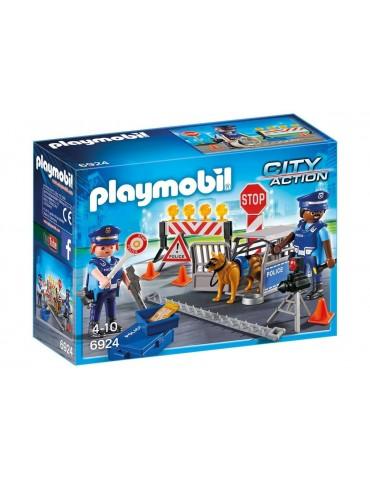 Blokada policyjna Playmobil