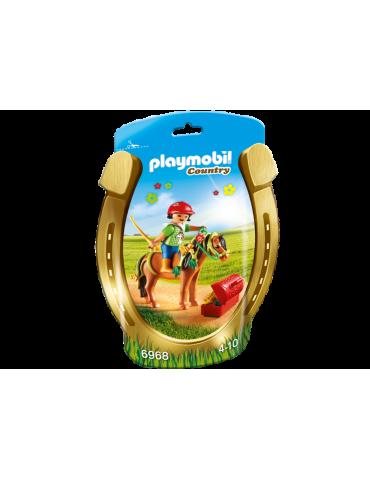Kucyk z ozdobą Kwiatuszek Playmobil