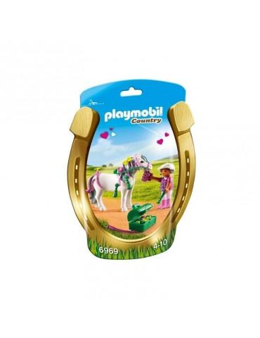 Kucyk z ozdobą Serduszko Playmobil