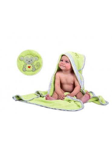 BabyMatex Bambusowe okrycie kąpielowe dla niemowląt Bamboo 100x100cm