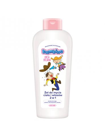 Bambino Żel do mycia ciała i włosów 2 w 1 400 ml