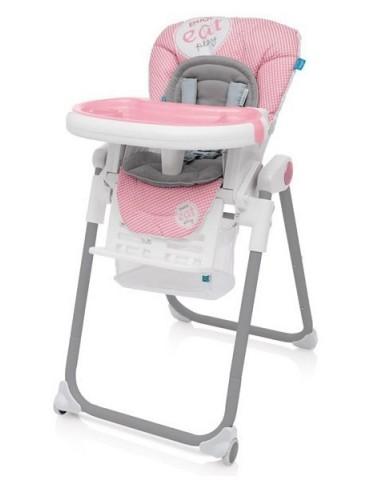 Krzesełko do karmienia  Baby Design Lolly Pink