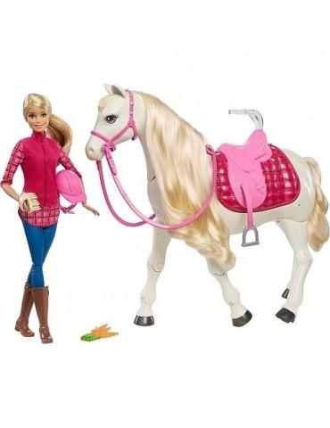 Barbie lalka i Interaktywny Koń Barbie