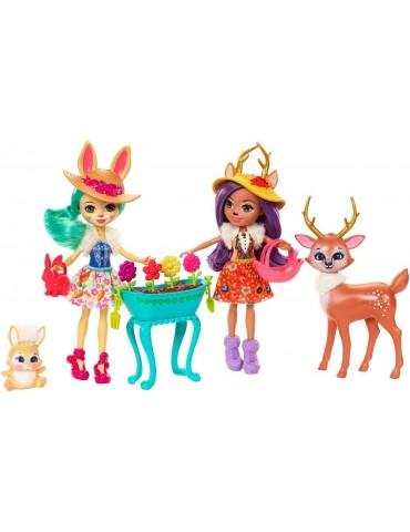 Barbie Enchantimals lalki i zwierzątka zestaw Mattel
