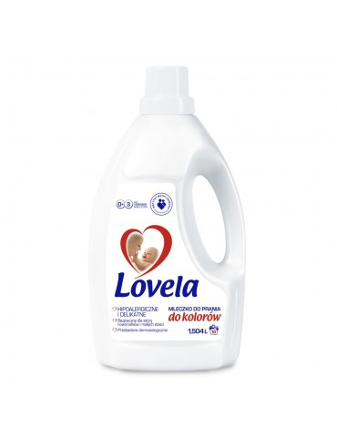 Lovela mleczko do prania 1,5l kolor