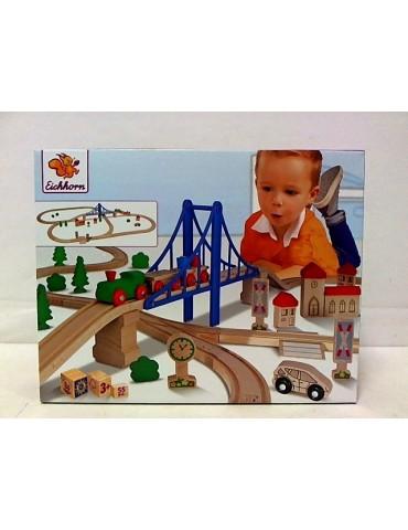 Simba Kolejka tor z mostem 55 elementów