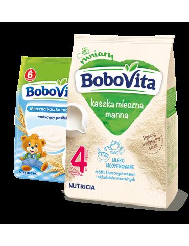 Kaszka mleczna manna 230g BoboVita