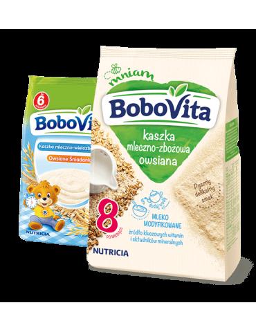 BoboVita Kaszka mleczno-ryżowa kakaowa DWUPAK