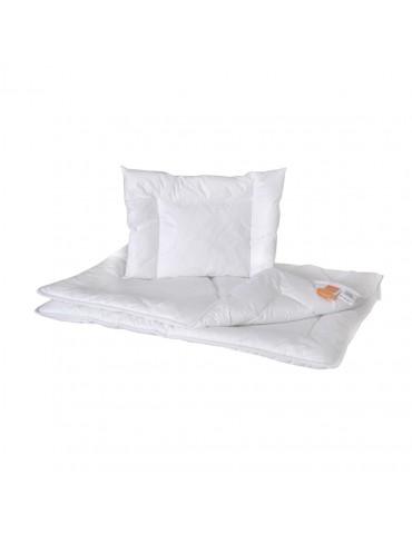 Poldaun kołdra i poduszka Hollofil Allerban całoroczna 135x100