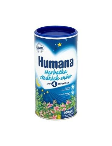 HUMANA Herbatka słodkich snów po 4. miesiącu 200GR